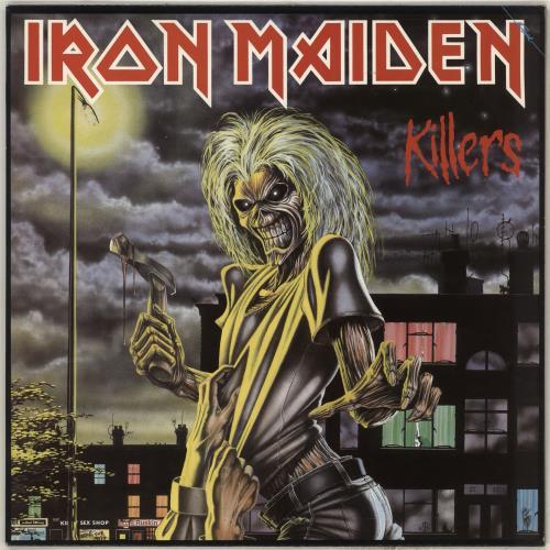 Iron Maiden Killers vinyl LP album (LP record) UK IROLPKI185381