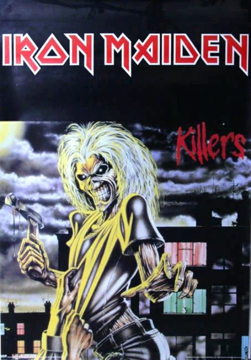 Iron Maiden Killers poster UK IROPOKI513423