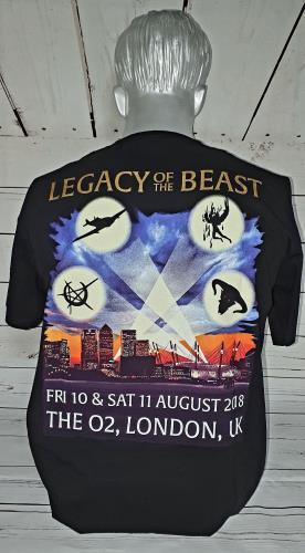 Iron Maiden Legacy Of The Beast - London 2018 t-shirt UK IROTSLE749076
