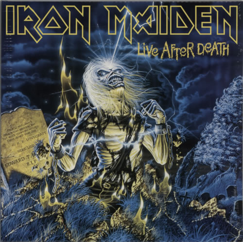 Iron Maiden Live After Death - 180gram - Sealed 2-LP vinyl record set (Double Album) UK IRO2LLI615269
