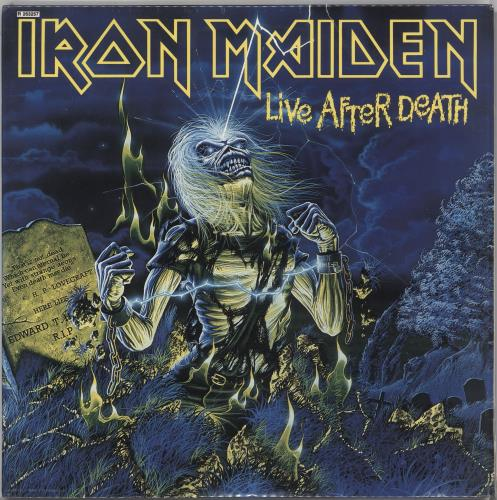 Iron Maiden Live After Death - Record Club Issue - Sealed 2-LP vinyl record set (Double Album) US IRO2LLI724471
