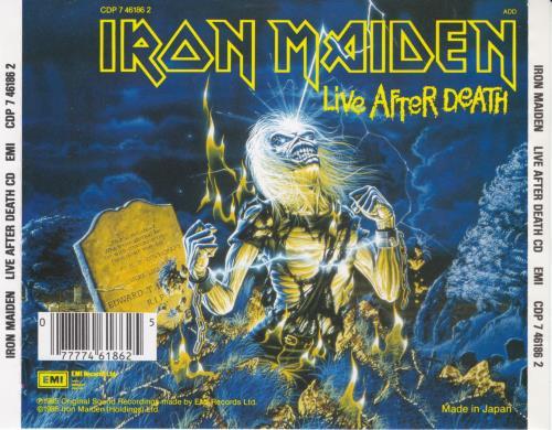 Iron Maiden Live After Death CD album (CDLP) UK IROCDLI656959