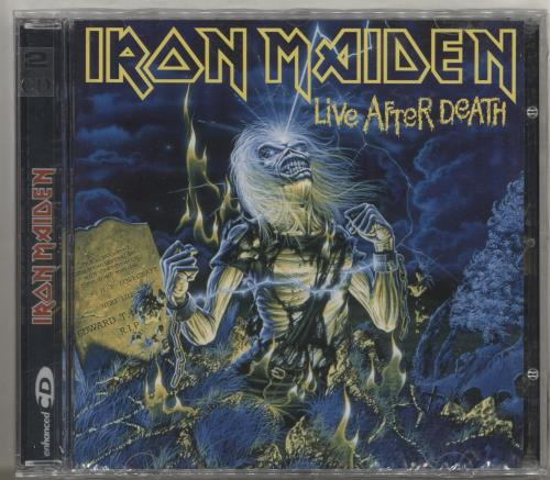 Iron Maiden Live After Death 2 CD album set (Double CD) Argentinean IRO2CLI713699