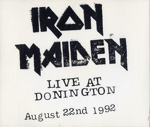 Iron Maiden Live At Donington 2 CD album set (Double CD) UK IRO2CLI25161