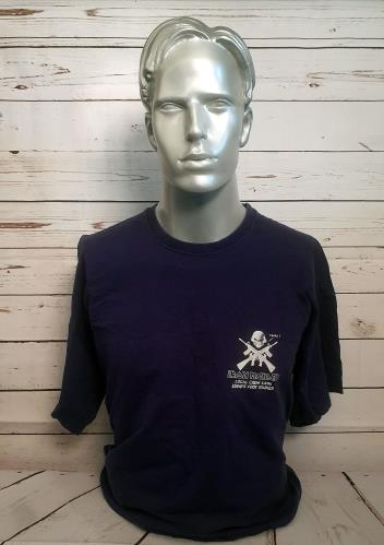 Iron Maiden Local Crew 2006 Eddie's Foot Soldier - Blue - XXL t-shirt UK IROTSLO738586