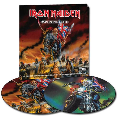 Iron Maiden Maiden England '88 - Sealed picture disc LP (vinyl picture disc album) UK IROPDMA580830