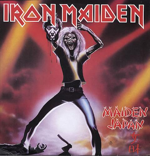 "Iron Maiden Maiden Japan - Withdrawn Paul Dianno Sleeve 12"" vinyl single (12 inch record / Maxi-single) Venezuelan IRO12MA291617"