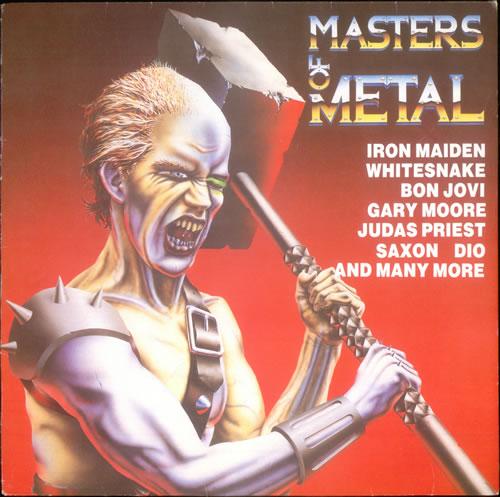 Iron Maiden Master Of Metal vinyl LP album (LP record) UK IROLPMA243889