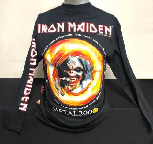 Iron Maiden Metal 2000 - Europe t-shirt UK IROTSME714576