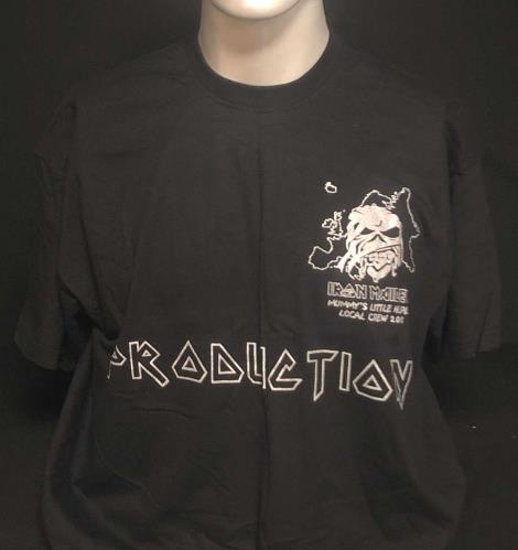 Iron Maiden Mummy's Little Helper Local Crew 2008 - Production - L t-shirt UK IROTSMU728875