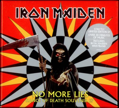 "Iron Maiden No More Lies - Dance Of Death Souvenir EP CD single (CD5 / 5"") UK IROC5NO533251"
