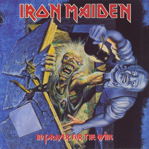 Iron Maiden No Prayer For The Dying - 1st - EX vinyl LP album (LP record) UK IROLPNO157140