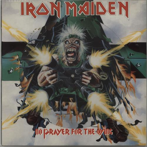 Iron Maiden No Prayer For The Dying - Picture sleeve picture disc LP (vinyl picture disc album) UK IROPDNO00686