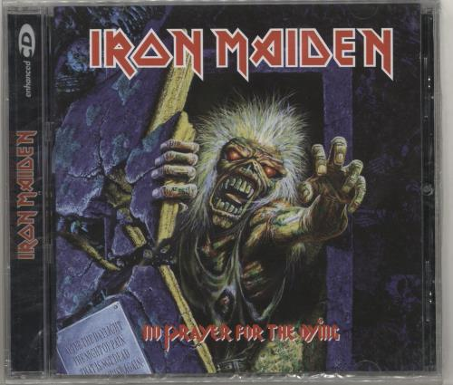 Iron Maiden No Prayer For The Dying CD album (CDLP) Argentinean IROCDNO713698