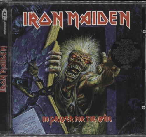Iron Maiden No Prayer For The Dying CD album (CDLP) UK IROCDNO715164