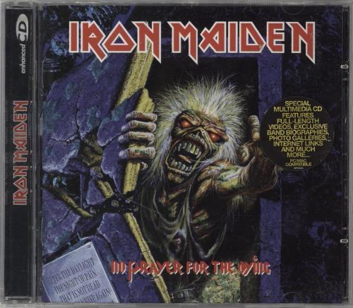 Iron Maiden No Prayer For The Dying CD album (CDLP) UK IROCDNO765717