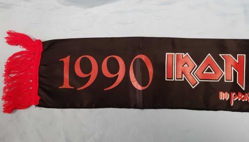 Iron Maiden No Prayer On The Road - Black Scarf memorabilia UK IROMMNO221876