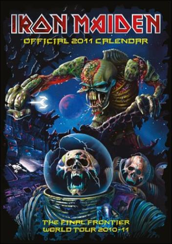 Iron Maiden Official Calendar 2011 calendar UK IROCAOF521157