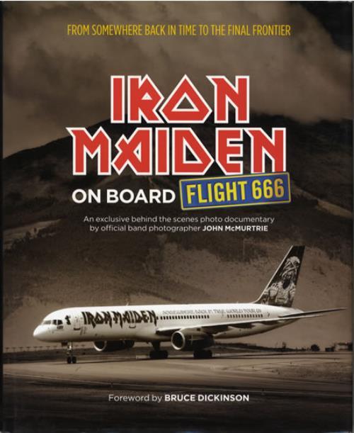 Iron Maiden On Board Flight 666 book UK IROBKON558278