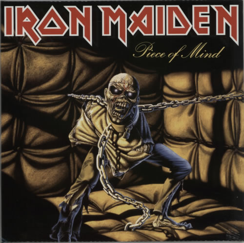 Iron Maiden Piece Of Mind - 180gram + Sealed vinyl LP album (LP record) UK IROLPPI615270