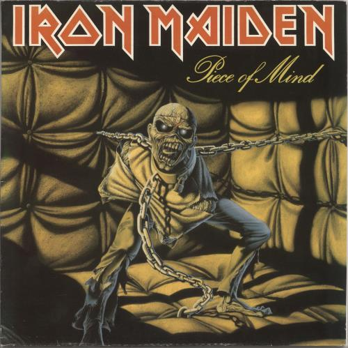 Iron Maiden Piece Of Mind - EX vinyl LP album (LP record) Dutch IROLPPI725074