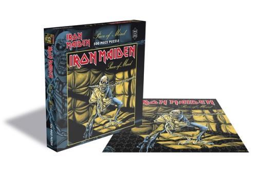 Iron Maiden Piece Of Mind - Rock Saws 500 Jigsaw Toy UK IROTYPI746281