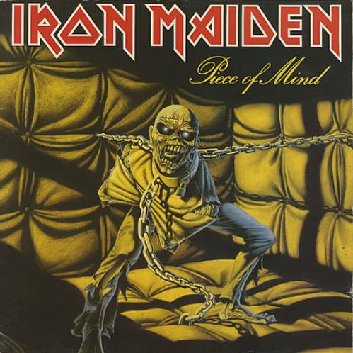 Iron Maiden Piece Of Mind vinyl LP album (LP record) UK IROLPPI242371