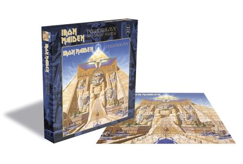 Iron Maiden Powerslave - Rock Saws 500 Jigsaw Toy UK IROTYPO746283