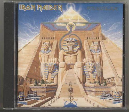 Iron Maiden Powerslave CD album (CDLP) US IROCDPO713693