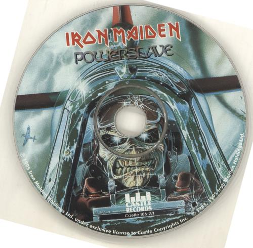 Iron Maiden Powerslave CD album (CDLP) US IROCDPO713693