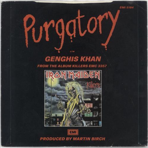 """Iron Maiden Purgatory - P/S - EX 7"""" vinyl single (7 inch record) UK IRO07PU228922"""