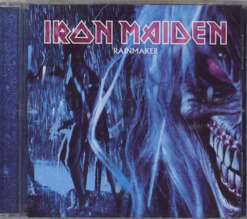 Iron Maiden Rainmaker CD/DVD single set UK IROSDRA262097