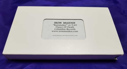 Iron Maiden Rainmaker video (VHS or PAL or NTSC) US IROVIRA302835