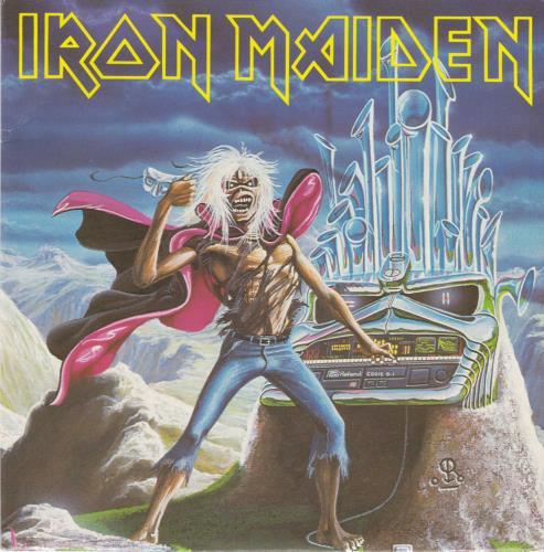"Iron Maiden Run To The Hills + Christmas Card - EX 7"" vinyl single (7 inch record) UK IRO07RU231672"