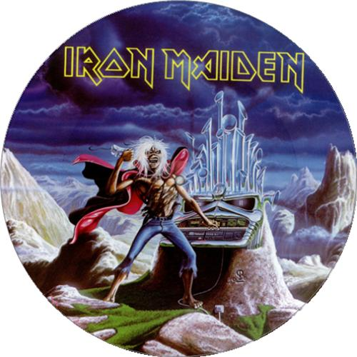 """Iron Maiden Run To The Hills 12"""" vinyl picture disc 12inch picture disc record UK IRO2PRU00698"""
