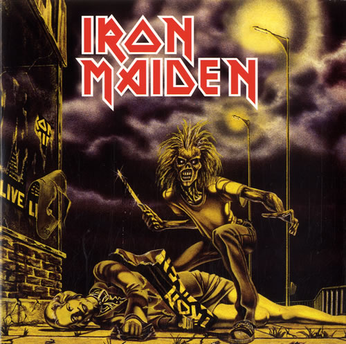 "Iron Maiden Sanctuary 7"" vinyl single (7 inch record) UK IRO07SA614098"