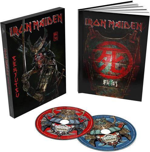 Iron Maiden Senjutsu - Deluxe Casebound Book & Slipcase - Sealed 2 CD album set (Double CD) UK IRO2CSE774772