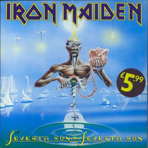 Iron Maiden Seventh Son Of A Seventh Son + Inner vinyl LP album (LP record) UK IROLPSE157138
