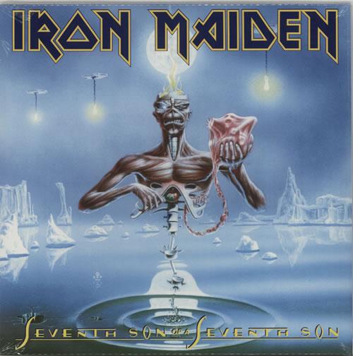 Iron Maiden Seventh Son Of A Seventh Son - 180grm vinyl LP album (LP record) UK IROLPSE616105