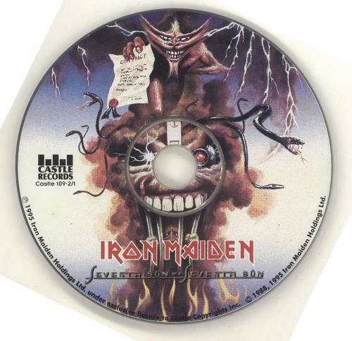 Iron Maiden Seventh Son Of A Seventh Son CD album (CDLP) US IROCDSE713696