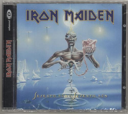 Iron Maiden Seventh Son Of A Seventh Son CD album (CDLP) Argentinean IROCDSE713700