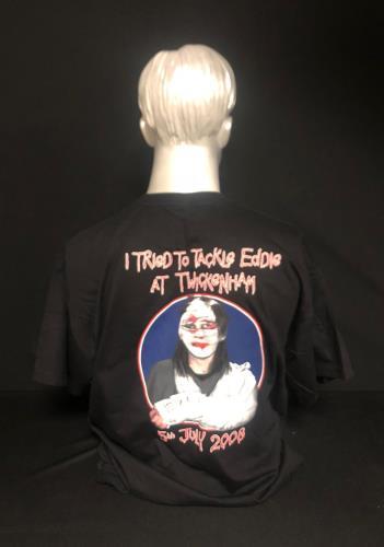 Iron Maiden Somewhere Back In Time World Tour - Twickenham 5th July t-shirt UK IROTSSO729237