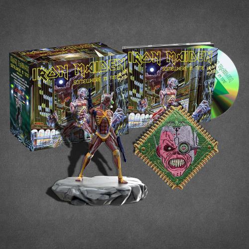 Iron Maiden Somewhere In Time - Collectors Box CD Album Box Set UK IRODXSO717565