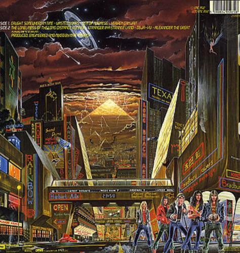 Iron Maiden Somewhere In Time - EX vinyl LP album (LP record) UK IROLPSO290556