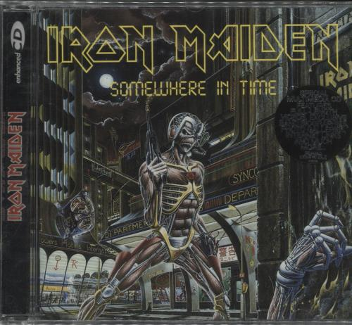 Iron Maiden Somewhere In Time CD album (CDLP) UK IROCDSO715162