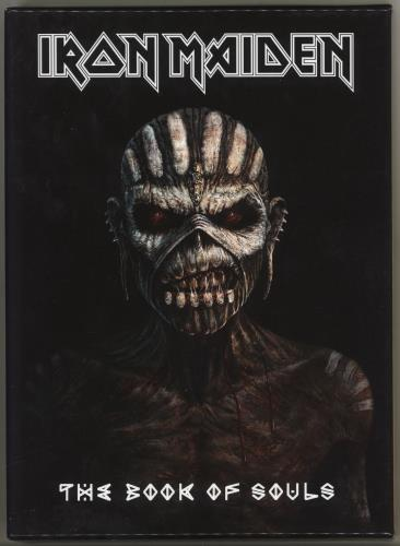 Iron Maiden The Book Of Souls - Deluxe Edition 2 CD album set (Double CD) UK IRO2CTH712919