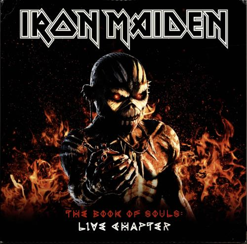 Iron Maiden The Book Of Souls: Live Chapter 3-LP vinyl record set (Triple Album) UK IRO3LTH695554