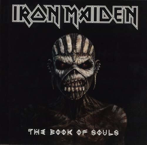 Iron Maiden The Book Of Souls 3-LP vinyl record set (Triple Album) UK IRO3LTH660070