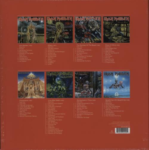 Iron Maiden The Complete Albums Collection 1980-1988 Vinyl Box Set UK IROVXTH614094