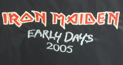 Iron Maiden The Early Years - medium jacket UK IROJATH354781